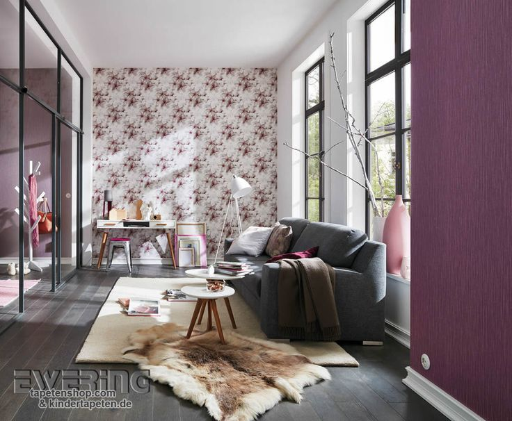 9 best Fashion for Walls - Guido Maria Kretschmer images on - tapete wohnzimmer anthrazit