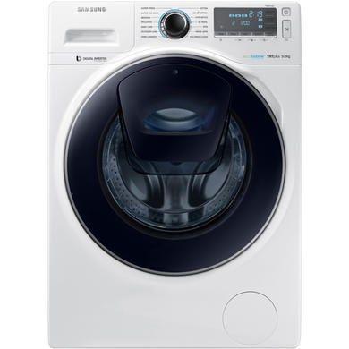 Samsung WW90K7615OW AddWash 9kg 1600rpm Freestanding Washing Machine White | Appliances Direct