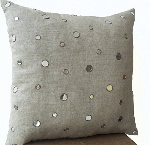 Amore Beaute Handmade Decorative Cushion Cover in Grey Li... https://www.amazon.co.uk/dp/B00OFXNR5I/ref=cm_sw_r_pi_dp_7POxxb4GG5E8V