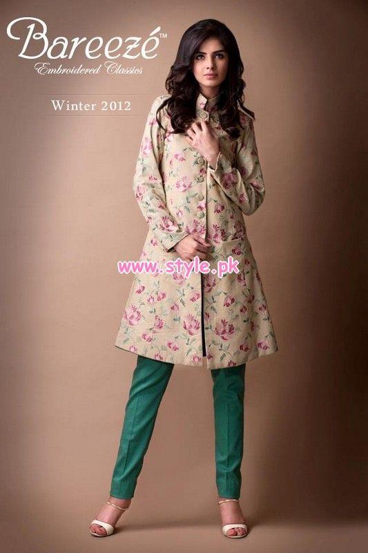 Bareeze Latest Winter Arrivals 2012-13 For Women