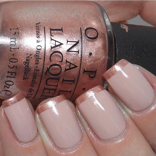 Pretty rose tipsby @Carlysisoka! Get perfect curved tips with our French Tip #NailVinyls only at snailvinyls.com❤️