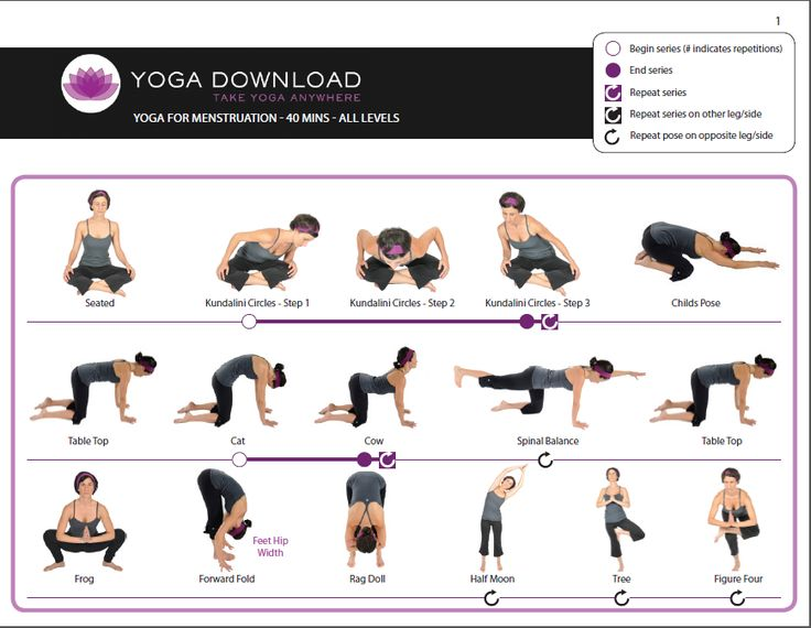 Yoga for menstrual pain, these also work well for back pain. This actually works! I get mine so bad I black out sometimes because of the pain so these are great. Other good reliefs I have found rather than popping pills are: drinking warm water, soaking in hot baths, applying heat pad, and light exercise.