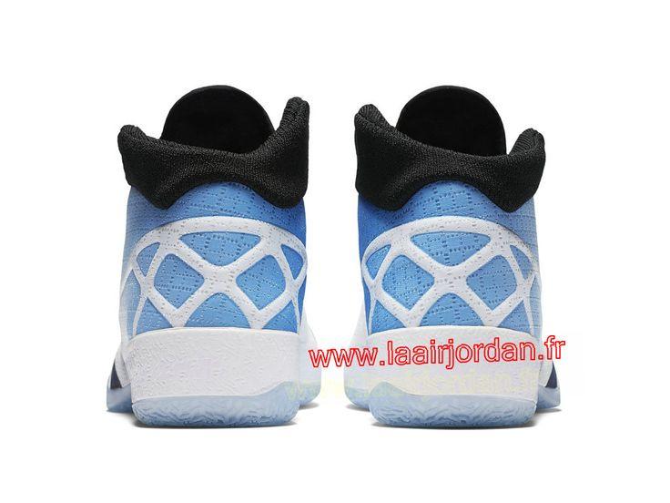 Air Jordan XXX Chaussures officiel Nike Jordan Pour Homme UNC 811006_107  Couleur: White/Black
