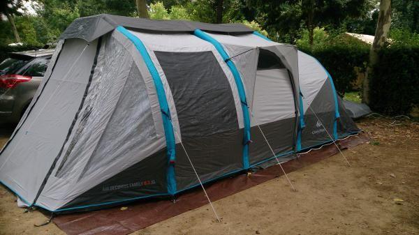 tente air seconds family 6 3 xl tente 4 8 personnes quechua camping pinterest familles. Black Bedroom Furniture Sets. Home Design Ideas
