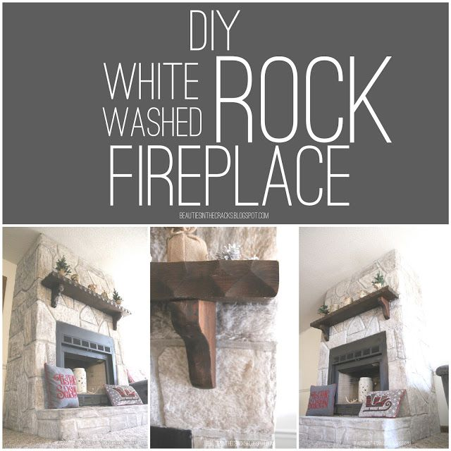 white washed rock fireplace is beautiful living space pinterest beautiful stone. Black Bedroom Furniture Sets. Home Design Ideas