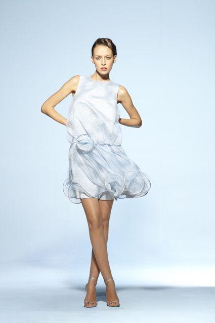 Collection soir Suzanne Ermann, robe Marceline Floquee.