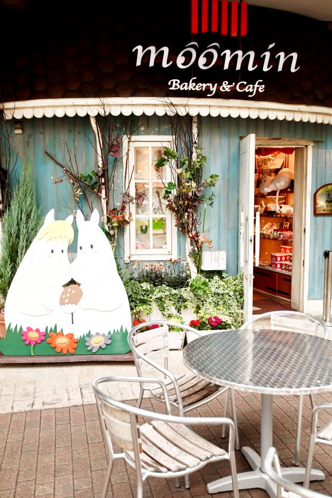 The Cherry Blossom Girl - Moomin café Tokyo