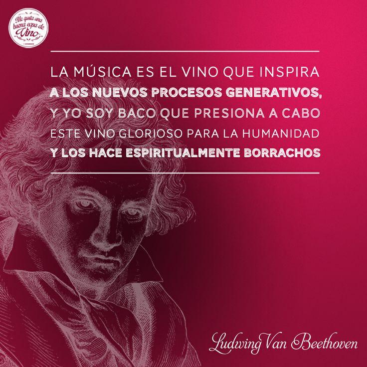 En el aniversario luctuoso de Ludwig van Beethoven lo festejamos recordando una gran frase que nos dejó!