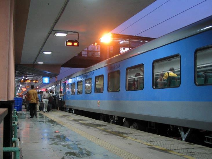 New Shatabdi Express train from Chandigarh to New Delhi is starting from January 14 th 2013 !