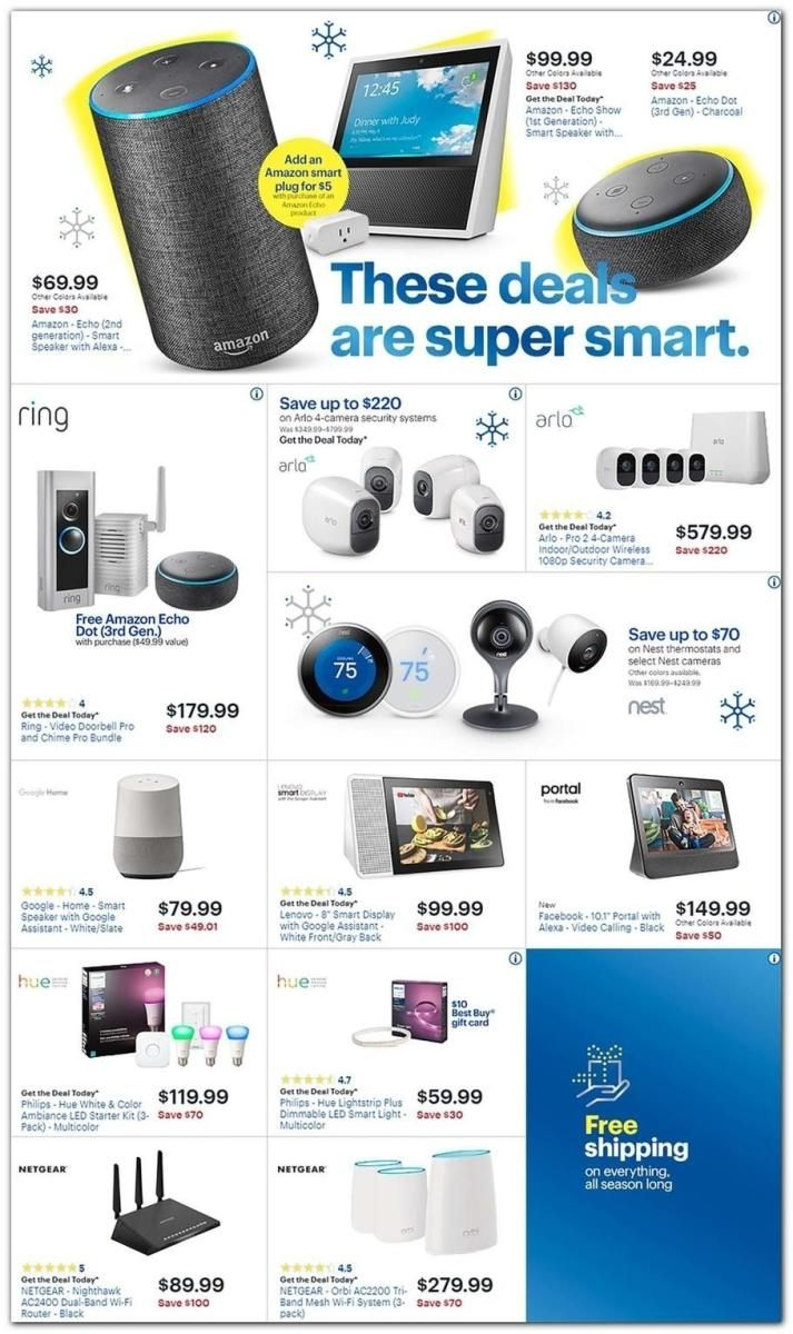 Print Ad Best Buy Black Friday 2018 Cool Things To Buy Black Friday Buy Black