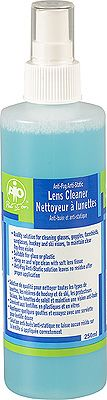 Lens cleaner with spray