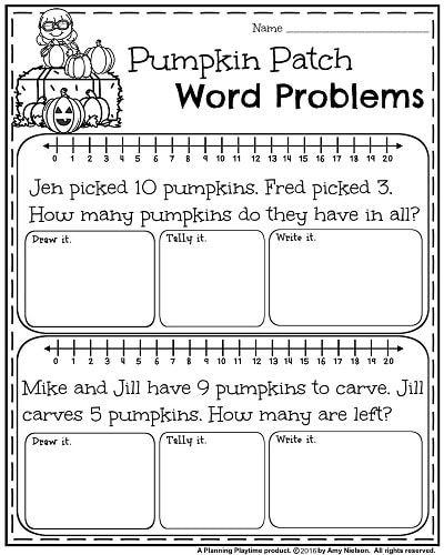 october first grade worksheets word problems worksheets and math. Black Bedroom Furniture Sets. Home Design Ideas