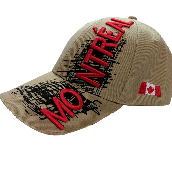 Canada Limited Edition X-Treme Montreal Scribble Logo Stitched & Embroidered Baseball Cap - 4 Colours Available!