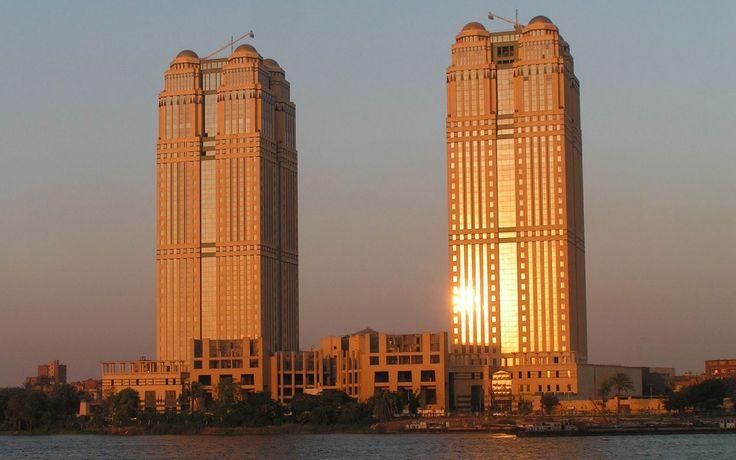 Nile City Towers Cairo Wallpaper HD For Desktop