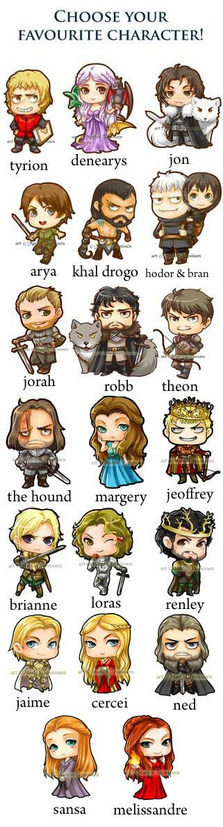 Game of Thrones Sticker set by dreamchaserart on Etsy