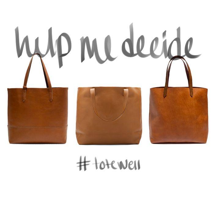 3f02579d2134 The Great Tote Debate   b l o g   Madewell tote, Madewell transport tote,  Madewell bags