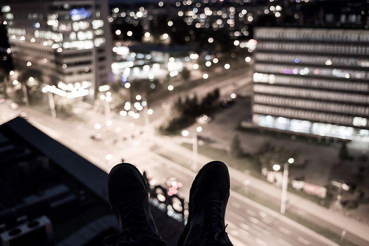 Above by Maciej Lulko #flickr #view #nightshot