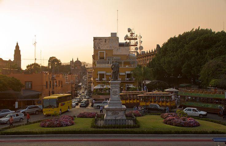 El zocalo de la ciudad de Cuernavaca, Morelos