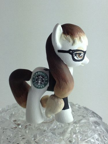 My Little Pony Friendship Is Magic Custom Pony Starbucks Barista Pony | eBay