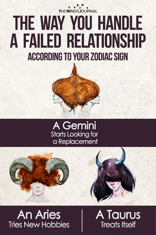 The Way You Handle a Failed Relationship According to Your Zodiac Sign - https://themindsjournal.com/way-you-handle-a-failed-relationship/