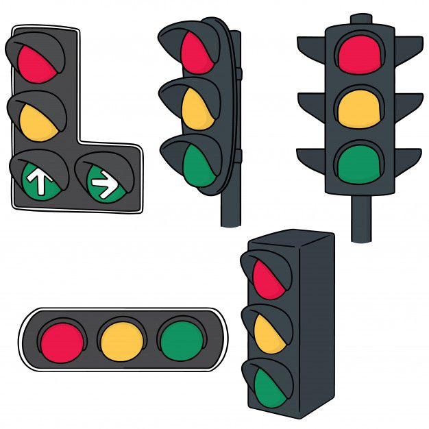 Set Of Traffic Light Traffic Light Doodle Images Doodle Background