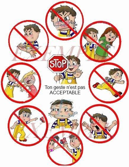 je vous fais partager quelques pictogrammes que j'ai trouvé sur le net pour rappeler certaines règles aux tout petits sous forme d'images. ...