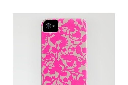 Bloglovin blogged by Cape Cod Collegiate    http://society6.com/garimadhawan/Earth-Pink_iPhone-Case