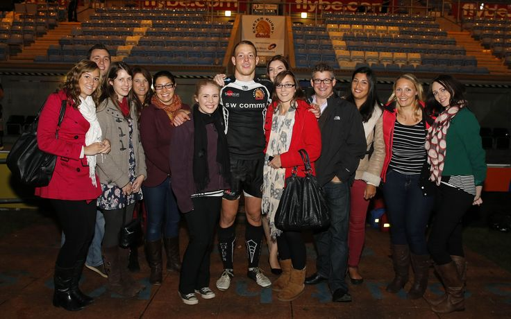 Some of Ashfords' Property Team attended the Exeter Braves v Harlequins match on Monday 7th October.  Here they are pictured after the match with Sam Blanchet, one of Ashfords' sponsored players and try scorer on the night