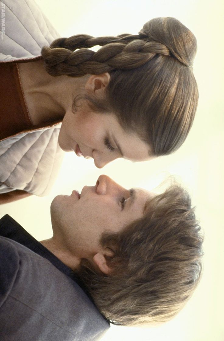 Princess Leia and Han Solo @ Bespin ~ Star Wars #ESB