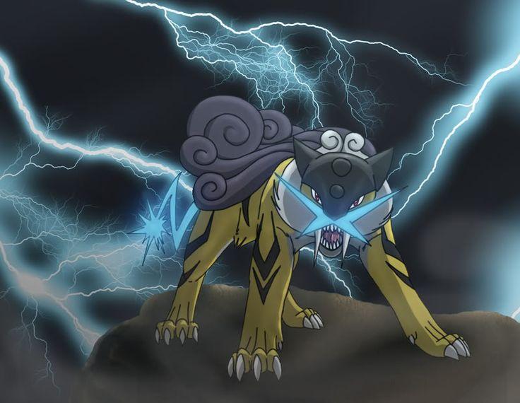 Legendary pokemon raikou