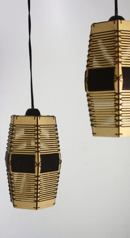 Lámpara Colgante Panal