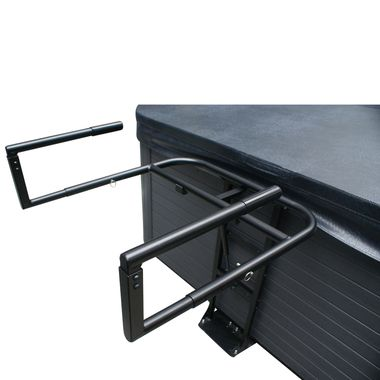 Cabinet Free Spa Cover Lifter Cradle for easy and hassle-free spa cover lifting http://spastore.com.au/cabinet-free-spa-cover-lifter-cradle/ #pool #spa #spapool #swimspa