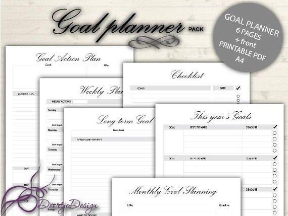 The 25+ best Goals worksheet ideas on Pinterest Goal setting - goal setting template