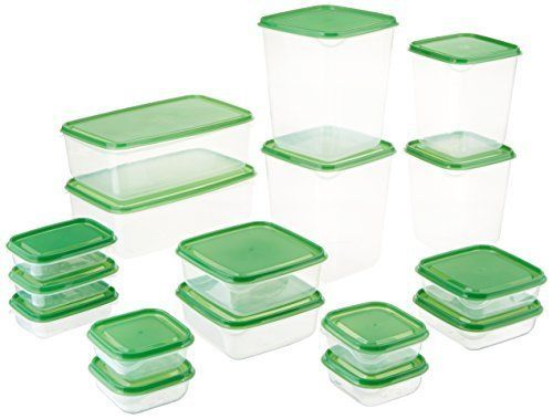 Plastic Food Storage Containers 17-Piece Pruta