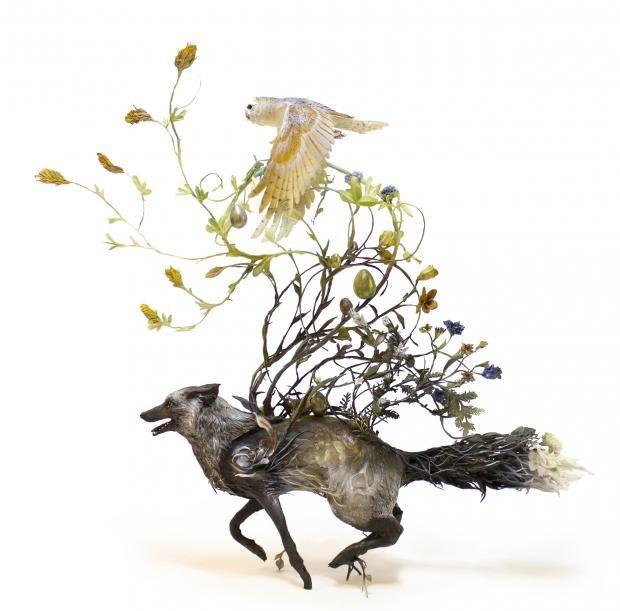 Сказочное искусство: сюрреализм фауны и флоры от Эллен Джеветт https://joinfo.ua/leisure/animals/1214641_Skazochnoe-iskusstvo-syurrealizm-fauni-flori.html