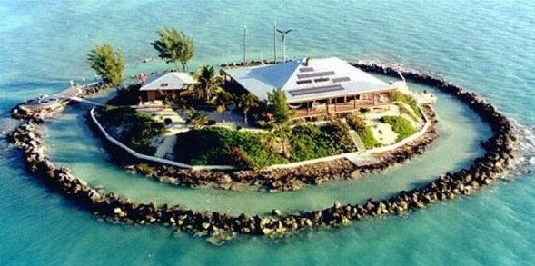 My own private island. Yes please!