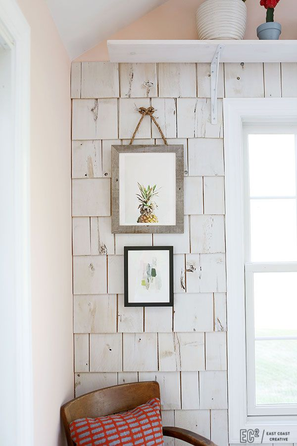 Best Diy Shingle Accent Wall Cedar Walls Interior Walls 640 x 480