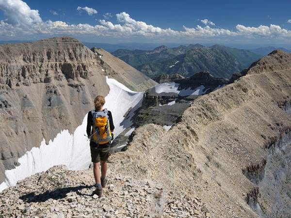 Mount Timpanogus: As awe-inspiring as Mount Timpanogos is from afar, you'll find its beauty is only magnified as you actually spend time on the mountain.