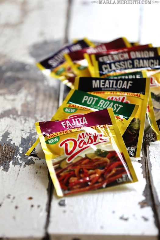 SUPER excited to learn about these Mrs. Dash seasonings!!  Having to go low-sodium has been a huge struggle.  Chicken Fajitas | FamilyFreshCooking.com