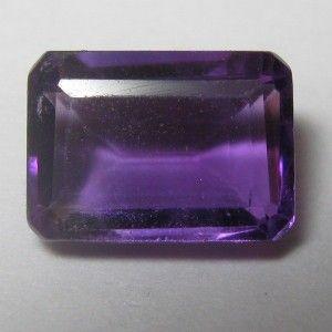 Purple Amethyst Rectangular 0.84 carat