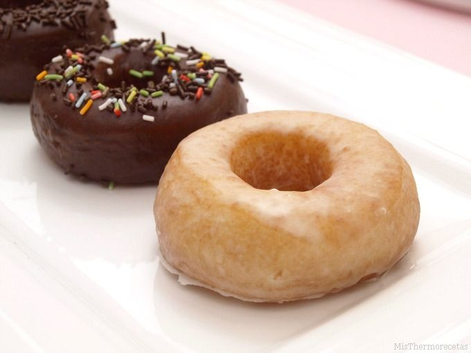 Donuts caseros - MisThermorecetas.com