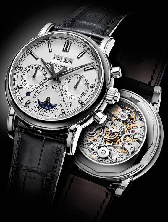 La montre Patek Philippe Référence 5204 Chronographe à rattrapante et quantième perpétuel