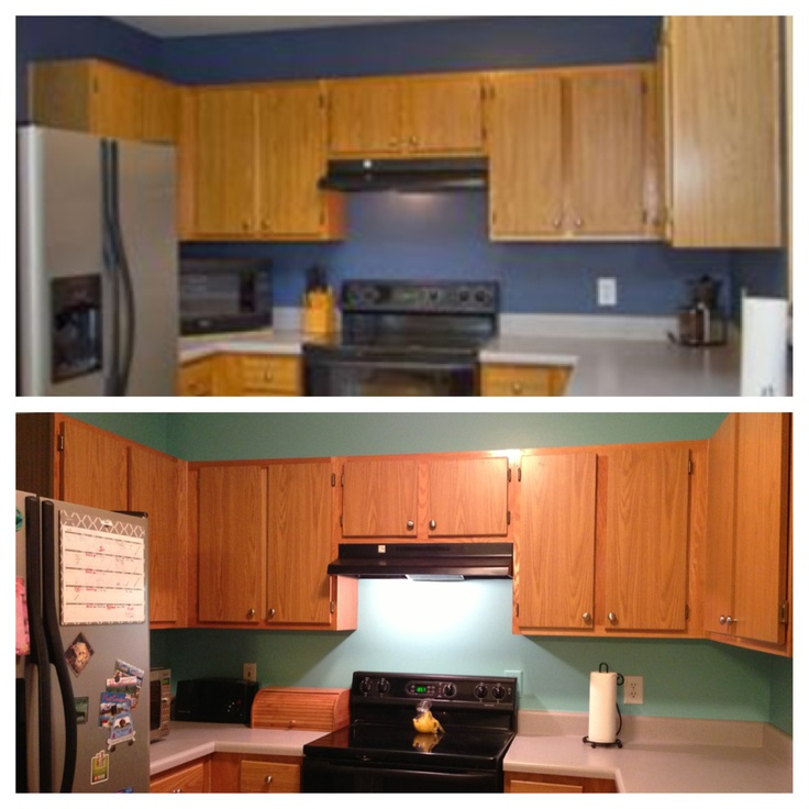 Behr Paint For Kitchen Cabinets: Embellished Blue By Behr, Sherwin Williams