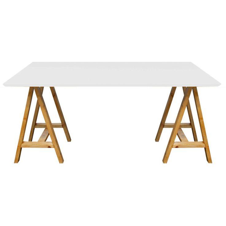 17 mejores ideas sobre mesas de comedor de caballete en - Caballetes para mesas ...