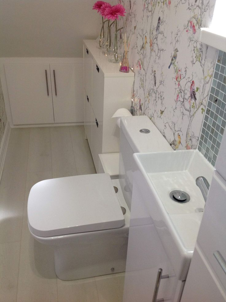 25 Best Ideas About Bathroom Under Stairs On Pinterest