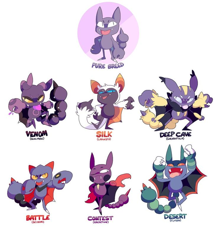 GLIGAR - pokemon variations by peabugs on DeviantArt