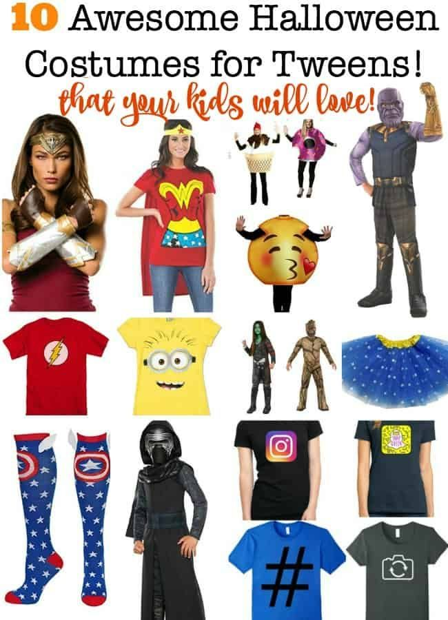 Uncool Halloween 2020 10 Awesome Halloween Costumes for Tweens that Your Kids Will Love