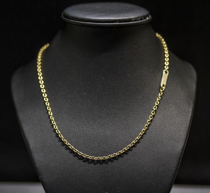 Collana Pomellato in oro giallo. prezzo da outlet gioielleria orolive