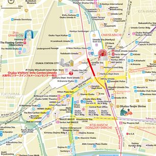 AREA MAP & GUIDEBOOK DOWNLOAD | PLAN | OSAKA INFO -Osaka ...