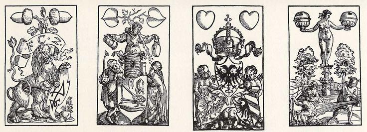 Artist: Flötner, Peter, Title: »Kartenspiel«, Daus, Date: ca. 1535